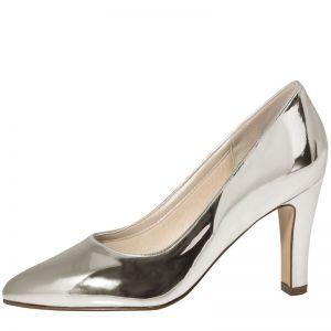 Rainbow Club Mandy Silver Wedding Shoes