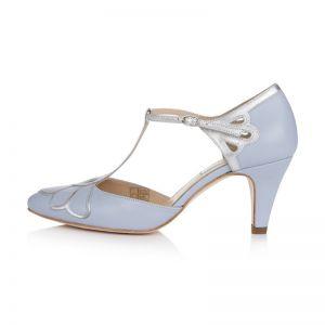 Rachel Simpson Wedding Shoes Gardenia II Blue