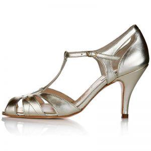 Rachel Simpson Wedding Shoes Ginger Gold