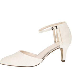 Rainbow Club Sarina Off-White Bridal Shoes