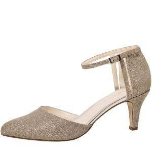 Rainbow Club Sarina Gold Bridal Shoes