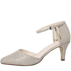 Rainbow Club Sarina Silver Bridal Shoes