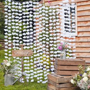 Ginger Ray CW-273 Rustic Country Flower Backdrop