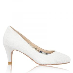 The Perfect Bridal Company Erica Lace Wedding Shoes