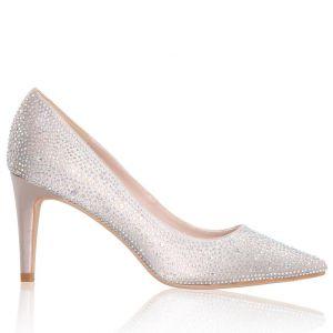 The Perfect Bridal Company Stara Nude Bridal Shoes