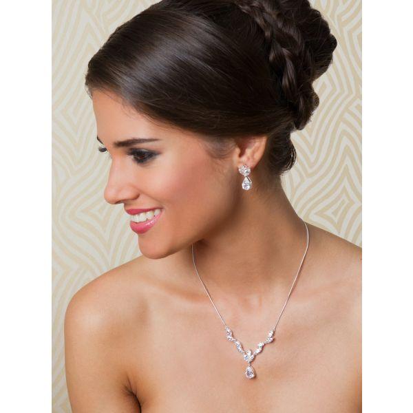 G. Westerleigh JN070 Bridal Jewellery Set