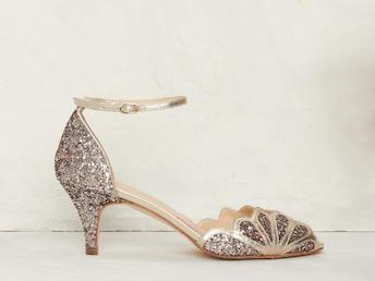 Rachel Simpson Isadora Quartz Bridal Shoes